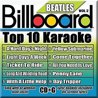 Billboard Top 10 Karaoke - Billboard Top 10 Karaoke: Vol. 2-Billboard Beatles Top 10 Karaoke [CD] USA import
