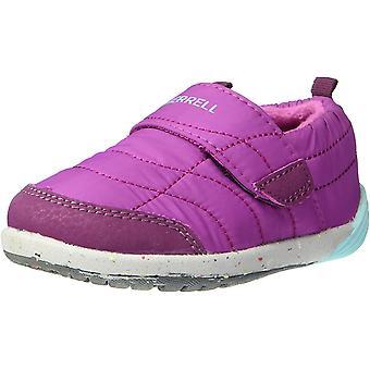 Merrell Kids' Bare Steps Hut Moc Sneaker