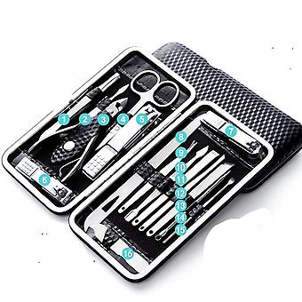 Household Stainless Steel Ear Spoon Nail Clippers - Manicure Nail Clipper Set