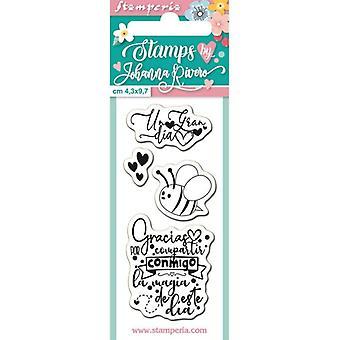Stamperia Bee Klara Frimärken