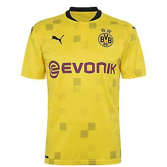 Puma Mens Borussia Dortmund Cup Shirt 2020 2021 Domestic Replica Football Top