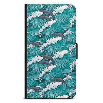 Bjornberry Wallet Case LG G5 - Waves & Dolphins
