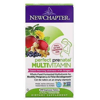 New Chapter, Perfect Prenatal Multivitamin, 270 Vegetarian Tablets