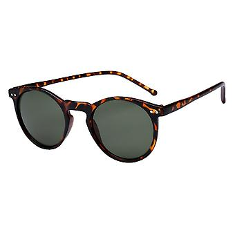 Sunglasses Unisex brown with green lens (AZB-048 P)