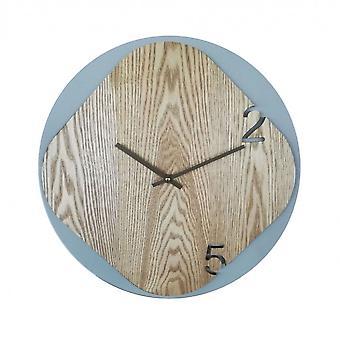 Rebecca Møbler Se en grå væg træ moderne køkken 40x40x5