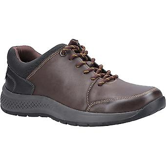 Cotswold Mens Rollright Leather Lace Up Casual Shoes