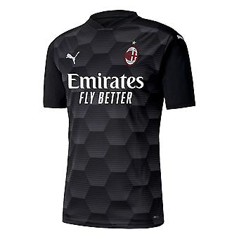 2020-2021 ميلان SS حارس مرمى قميص (أسود)