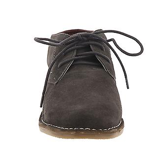 Enfants Kenneth Cole Reaction Girls Real deal suede Leather Lace Up Loafers