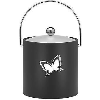 Kasualware 3 Qt Ice Bucket Papillon Noir