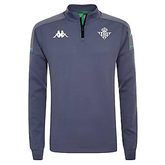 2020-2021 Real Betis Half Zip Training Top (Grau)