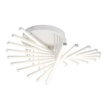 Lámpara AEG Cyrus Lámpara de Techo LED 62cm Blanco ? 1x 60W LED integrado (chip SMD), (6000lm, 3000K) Escalar A++ a E ? Continuamente