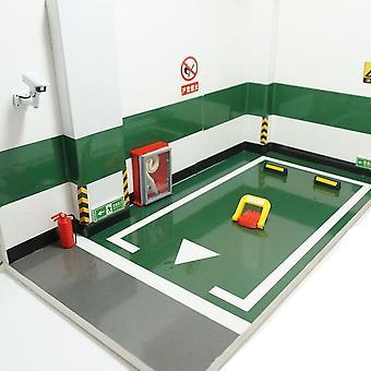 مشهد السيارة وقوف السيارات تحت الأرض نموذج المرآب