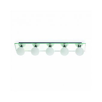 Lass Mirror Wall Lamp 5 Lights For Bathrooms
