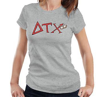 Animal House DTX Röd Logo Kvinnor's T-shirt