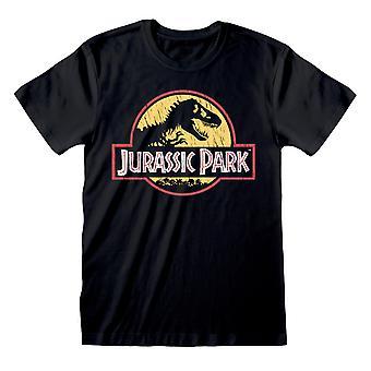 Jurassic Park Unisex Volwassen Logo T-shirt
