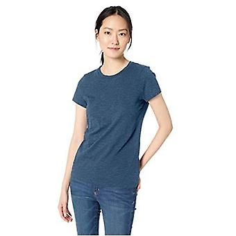 Marca - Daily Ritual Women's Lived-in Cotton Slub Short-Sleeve Crew Neck T-Shirt