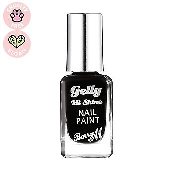 Barry M Gelly HI Shine Nail Paint-Black Forest