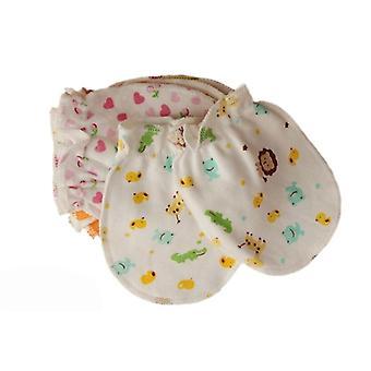 طفل حديث الولادة المضادة خدش قفازات الملحقات