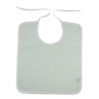 Repas de coton mangeant le dossard protecteur de vêtement de bavoir - serviette de salive, patients adultes