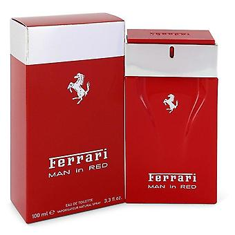 Ferrari Man In Red Eau De Toilette Spray By Ferrari 3.4 oz Eau De Toilette Spray