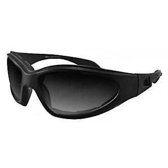 Balboa GXR001 Black Frame GXR Sunglass - Anti-Fog Smoked Lenses