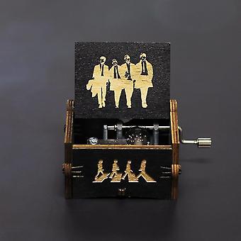 خشبية يدوية الصنع جاك سبارو من قراصنة الكاريبي يلعب ميلودي بوكس