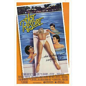 Poster do filme quente Resort (11 x 17)