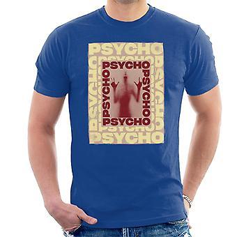 Psycho Psycho Psycho Mirror Silhouette Men's T-Shirt