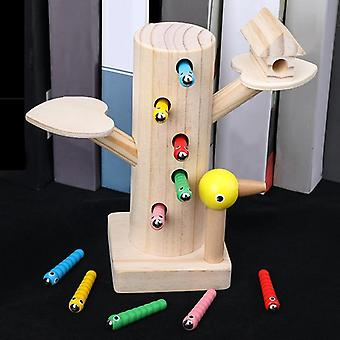 حجم كبير، قوس قزح بناء كتل - خشبية مونتيسوري لعبة تعليمية