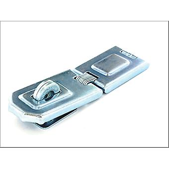 Securit Flexi Hinged Hasp and Staple Zinc Plated 150mm S1449