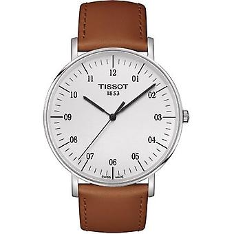 Tissot T109.610.16.037.00 T-Classic Silver Dial Men's Watch