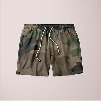 Camouflage seamless shorts