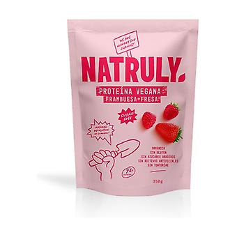 Organic Strawberry Vegan Protein 350 g