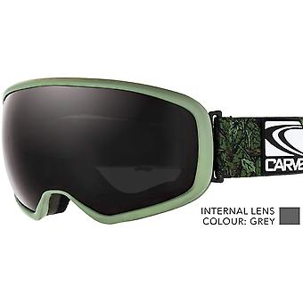Carve first tracks all round lens snow goggle