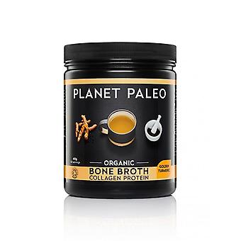 Planet Paleo Organic Bone Broth Collagen Protein Golden Turmeric 450g (PP2004)
