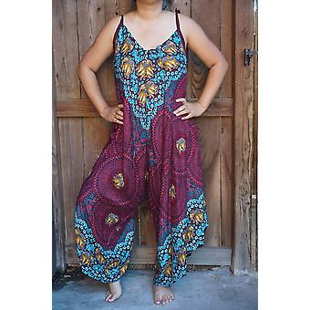 Boho Hippie Jumpsuit Rompers
