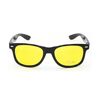 Unisex Square Żółte soczewki Noktowizor Okulary Driving Men Kobiety Wiatroszczelne