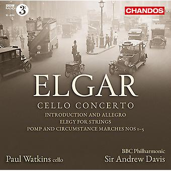 E. Elgar - Elgar: Cello Concerto [CD] USA import