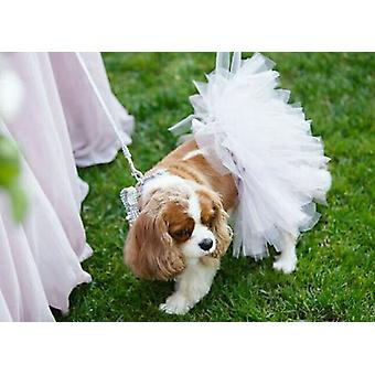 White Bridal Dog Tutu Skirt | Xs-xxxl