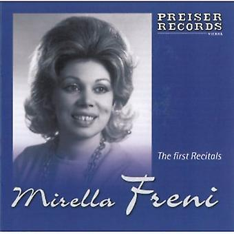 Bellini/Bizet/Verdi - The First Recitals [CD] USA import