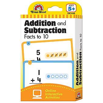 Línea de aprendizaje: Datos de suma y resta a 10, Grado 1+ (Edad 5+) - Flashcards
