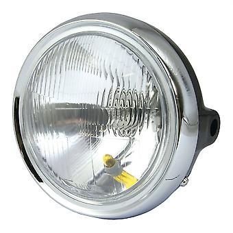 Honda CB250N strålkastare med Halogen H4 Glödlampa 12V 60/55W