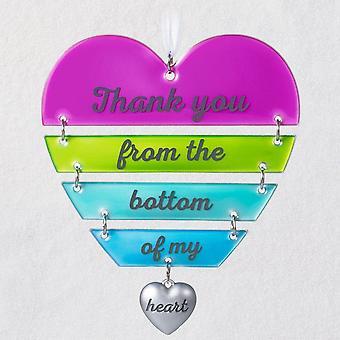 Hallmark So Grateful Hanging Heart