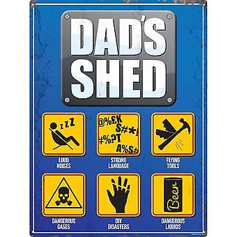 Grindstore Dads Shed Plaque