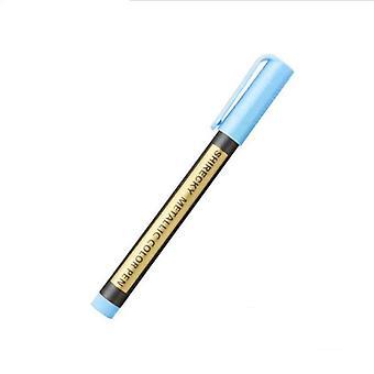 Colored Highlighters, Waterproof Permanent Metallic Marker Pen