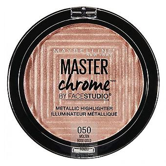 Maybelline Master Chrome Metallic Highlighter - 050 Molten Rose Gold