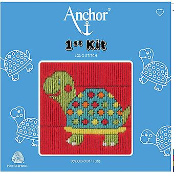 Anchor Long Stitch Kit: 1st Kit: Turtle