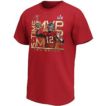 Tampa Bay Buccaneers NFL Shirt #12 Tom Brady Super Bowl