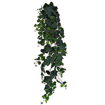 Pianta sospesa edera artificiale 180cm Deluxe