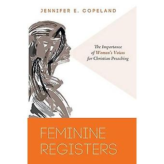 Feminine Registers by Jennifer E Copeland - 9781625642196 Book